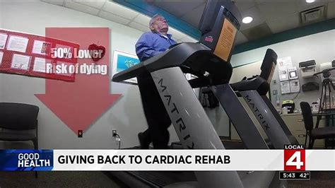 mp rehab patient gives back to cardiac rehab