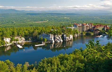 house mountain file mohonk mountain house 2011 view of mohonk lake from one hiking trail frd 3247 jpg