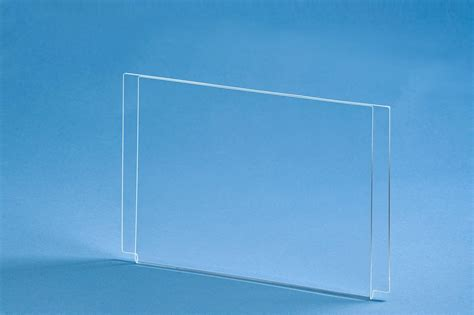 Display Acrylic Poster fold sign frame acrylic poster holder for cable system