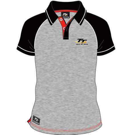 tt ladies polo black isle of man tt official shop isle of man tt official merchandise tt clothing t shirts