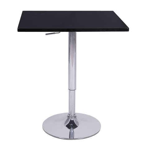 adjustable square pub table new contemporary square adjustable bar stool pub table