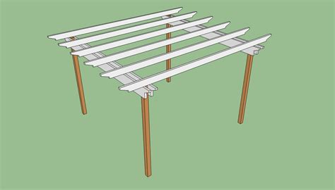 free pergola building plans pergola plans free howtospecialist how to build step