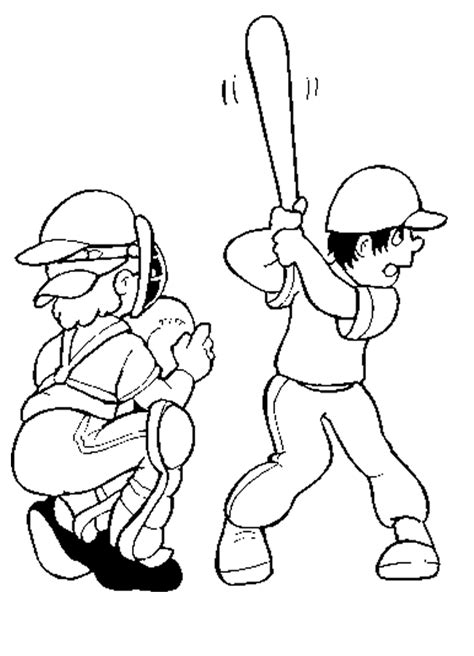 baseball player coloring page az coloring pages