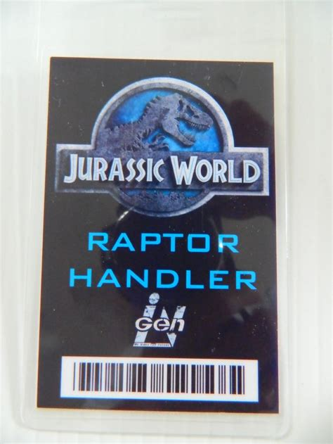 jurassic world id card template 15 best jurassic world logo images on