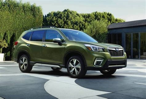 subaru forester 2019 ground clearance 2019 subaru forester unveiled at new york auto show