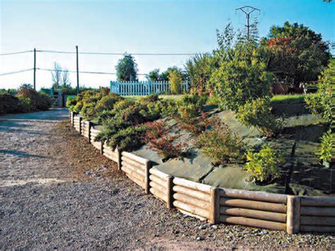 Bordure De Jardin En Rondin De Bois 2647 by Bordure Rondin Bois