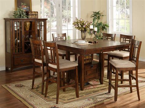 Babcock Furniture Dining Room Sets by Homelegance Sophie Counter Height Dining Table 795 36
