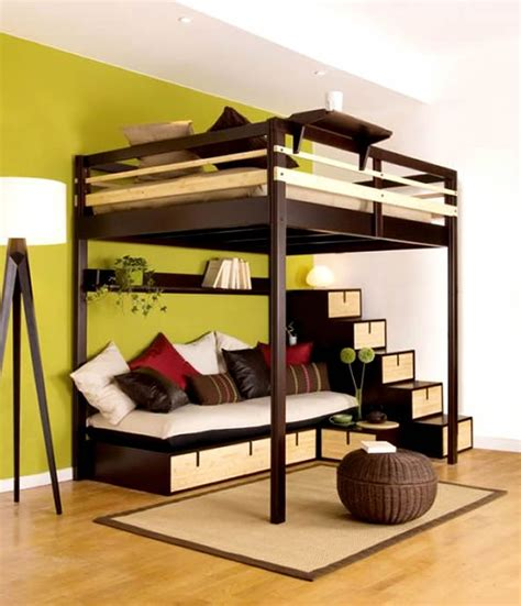 unique simple teenage loft bed with desk aside double hung teens bedroom bunk bed for teenager wood with futon modern