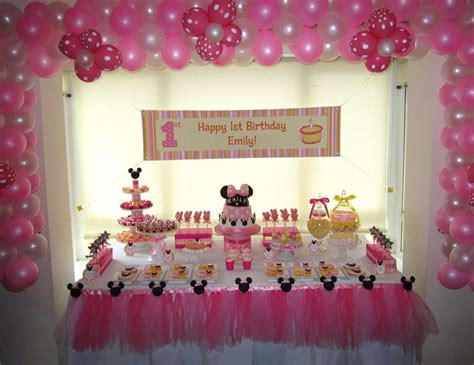 Minnie Mouse Birthday Decoration Ideas by Minnie Mouse Birthday Quot Minnie Mouse Pink And Yellow