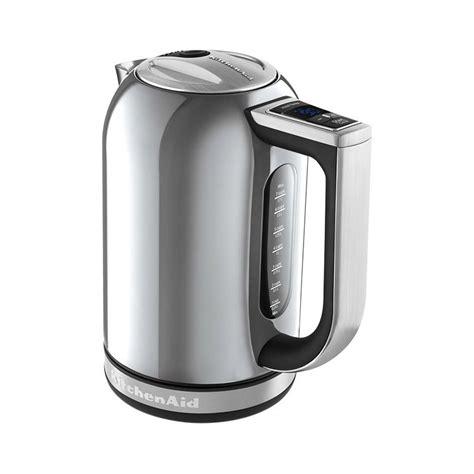kitchenaid artisan electric kettle kek1722 contour silver