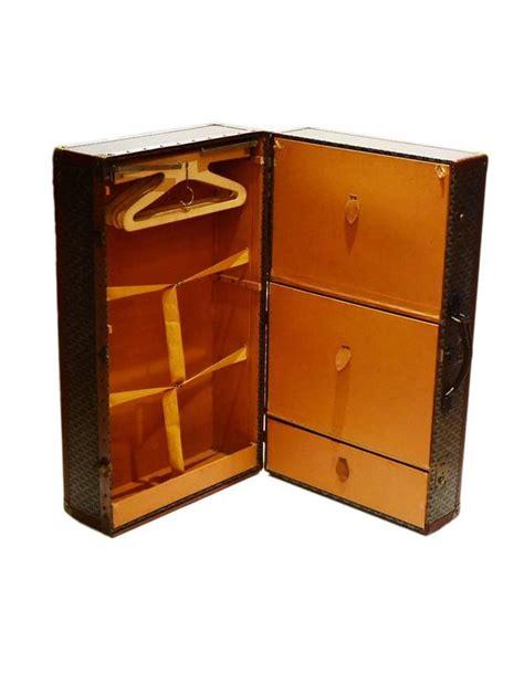 Mini Wardrobe goyard vintage brown and grey monogram mini wardrobe for sale at 1stdibs