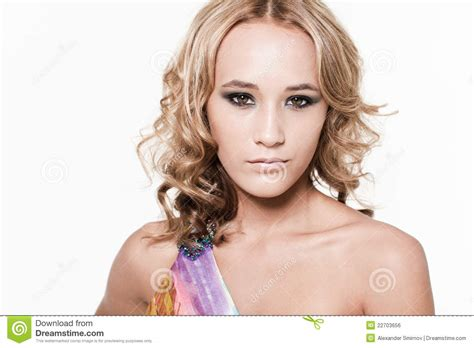 model girl looks illegal young beautiful female model royalty free stock image