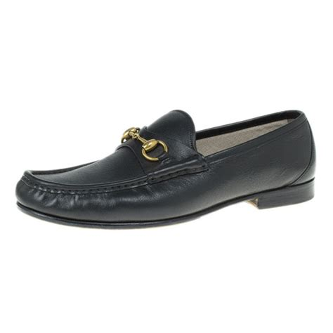 buy gucci loafers gucci black leather 1953 horsebit loafers size 43 buy