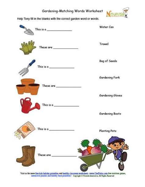 Gardening Worksheets Horticulture Worksheets Mmosguides