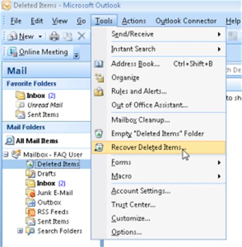 outlook 2010 tutorial recovering deleted items microsoft office 365 vs hosted exchange what s the difference