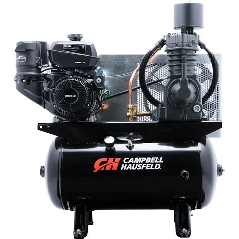 free shipping cbell hausfeld service truck series air compressor 13 hp kohler command