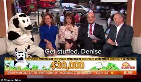 Cash Cow Giveaway - david koch tells a viewer to get stuffed during cash cow daily mail online