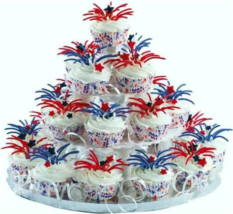 july 4th cupcakes ideas the wondrous pics