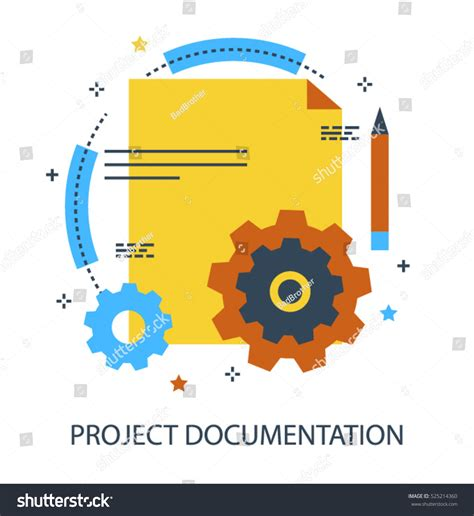 design concept report infographic flat design concept project documentation