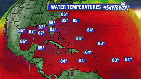water temperature gulf of mexico atlantic heats up keeping a close eye on invest 96l and
