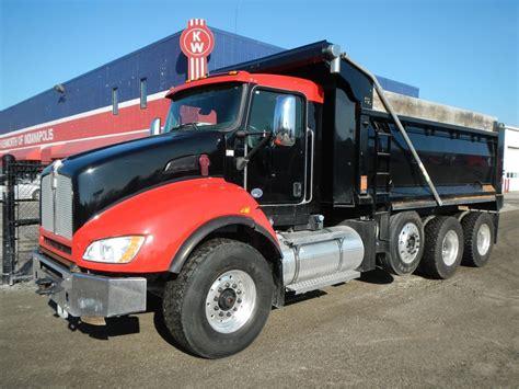 kenworth trucks 2016 2016 kenworth dump trucks for sale used trucks on