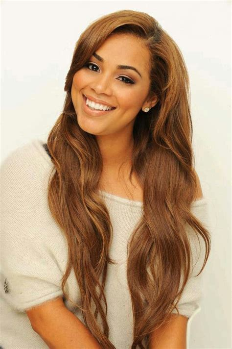 what is lauren londons hair color lauren london s 10 best beauty looks