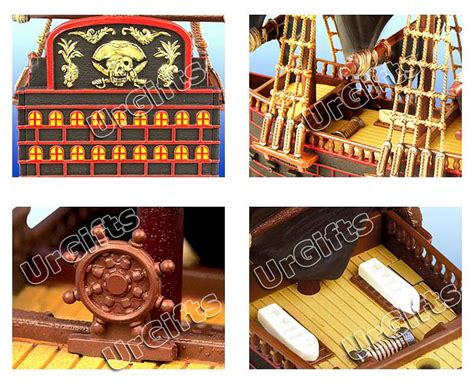 4d Puzzle Black With 3d Detail 4d puzzle 3d model pirate ship boat of king sparrow black pearl ebay
