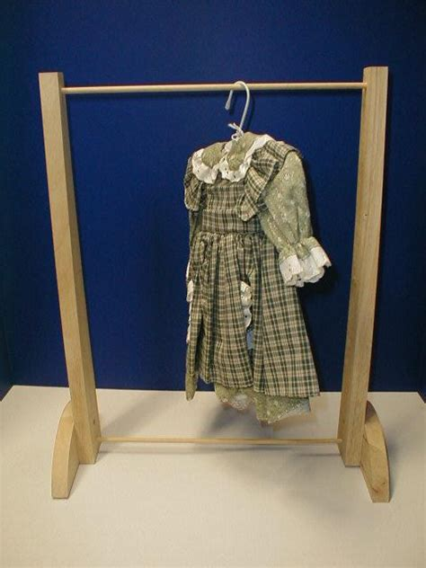 How To Build A Clothes Rack by Make Garmet Rack Tlc Doll Accessories For 18 Dolls