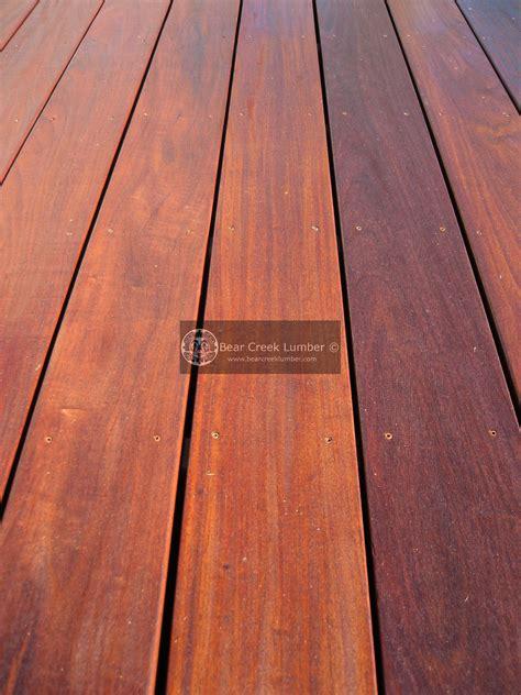 bear creek lumber featured projects ipe deck  california