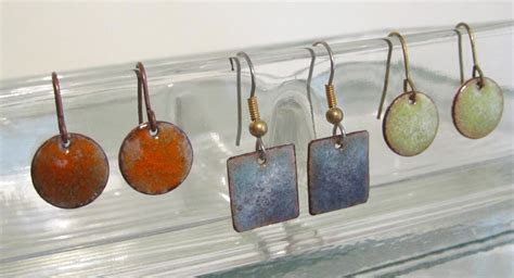 how to make copper enamel jewelry enameled copper jewelry torchedfusion page 2