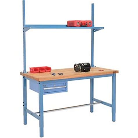 production work benches work bench systems adjustable height pre configured