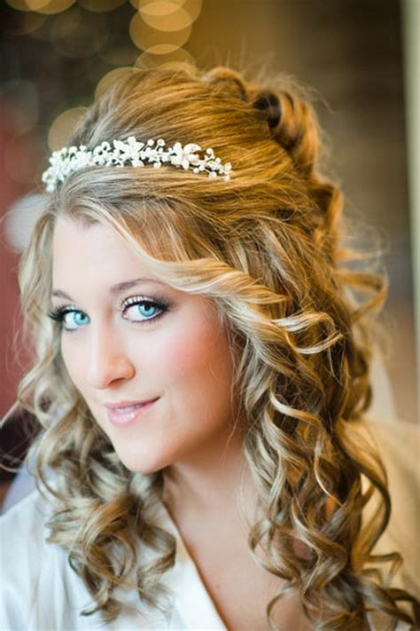 hairstyles for curly hair with headbands curly hairstyles for brides
