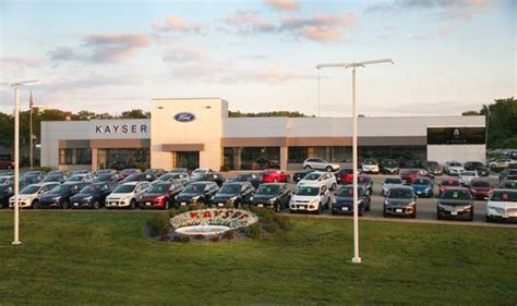 kayser ford lincoln wi kayser ford lincoln car dealership in wi 53713