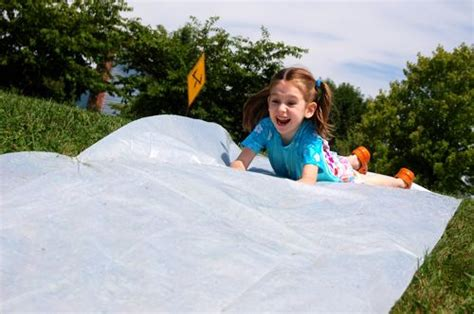 Backyard Slip N Slide by Diy Slip And Slide Inner Child