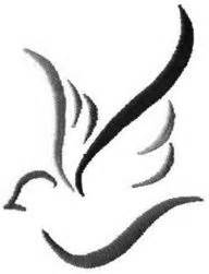 Small Dove Outline by Dove And Simple Tattoos Piercings Simple Stencils