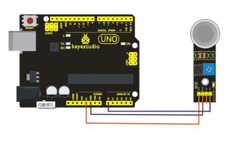 Soket Sensor Seri Mq 6 Pin ks0044 keyestudio mq 6 gas sensor keyestudio wiki