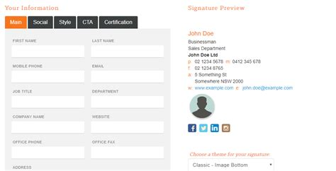 10 Tips And Tools To Create An Impressive Email Signature Hubspot Template Builder