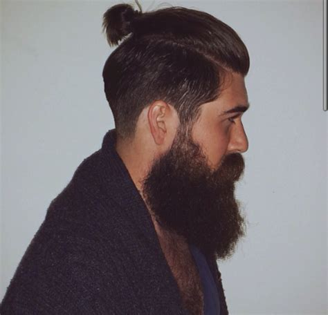 how to grow a topknot top knot with beard google search hair beards
