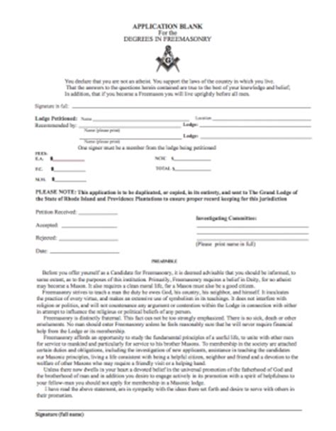application letter to join freemasonry forms harmony9