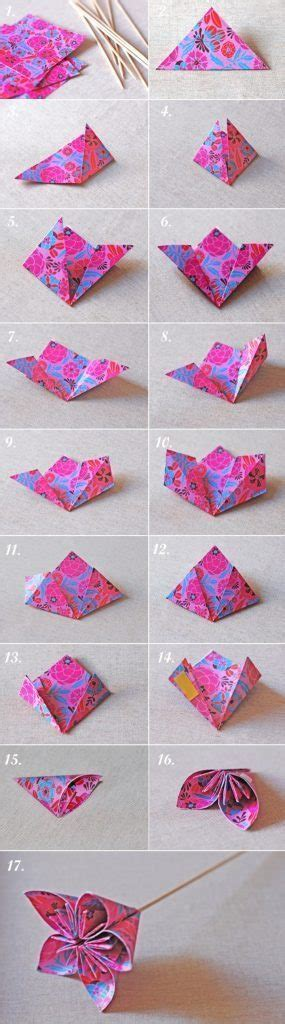 How To Make Origami Kusudama Flowers - how to make origami kusudama flowers simple craft ideas