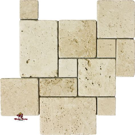 installing french pattern travertine tiles ivory opus mini french pattern travertine los angeles