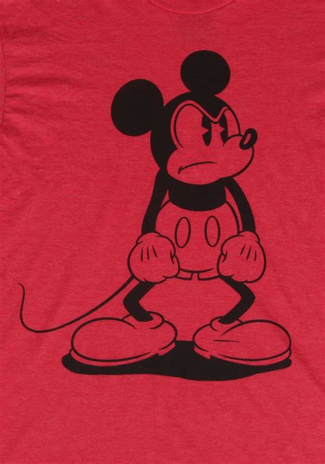 Mouse Was Mad s mickey mouse standing mad t shirt