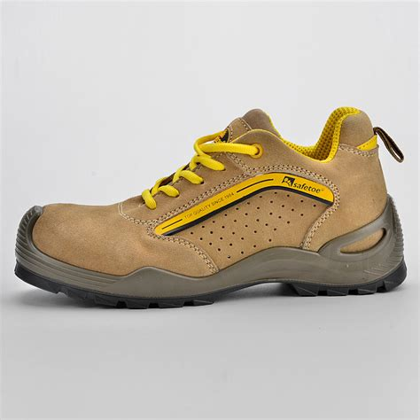Safety Shoes Safetoe Capella L 7296 experienced supplier of summer safety shoe l 7296yellow