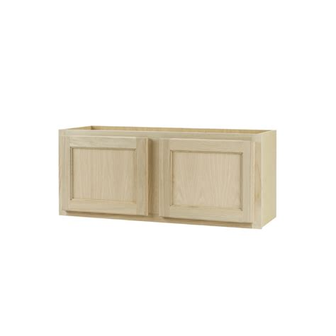Kitchen Cabinet Unfinished Shop Continental Cabinets Inc 30 In W X 15 In H X 12 In D Unfinished Oak Door Kitchen