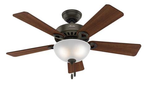 hunter ridgefield five minute fan 44 quot bronze brown ceiling fan ridgefield 51038 hunter fan