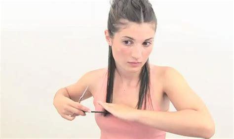 c mo cortar el pelo en casa como cortar el pelo de la frente uno mismo cortes de como