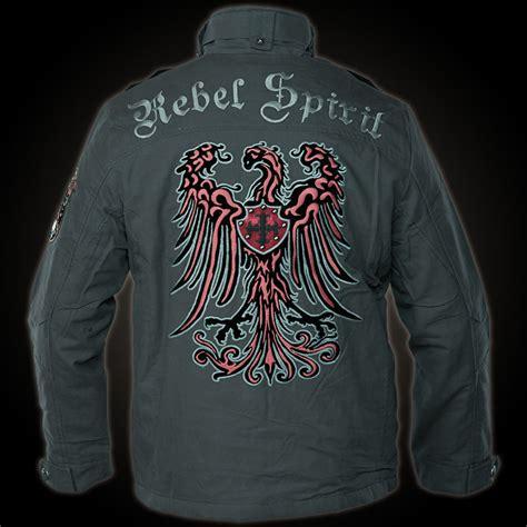 rebel spirit jacket mjk131651 in grey jacket with many