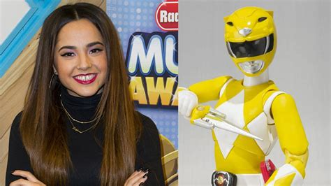 what is becky g favorite color becky g cast as yellow power ranger in new power rangers