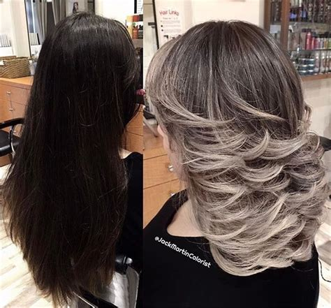 ombre hair color for salt and pepper hair 404 best my salt and pepper hair images on pinterest