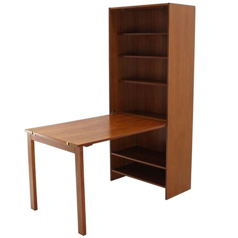 Bookcase Table by Folding Dining Table Bookcase For Sale At 1stdibs